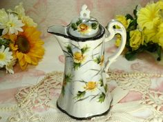 Beautiful Hand Painted Vintage Porcelain by HappyGalsVintage