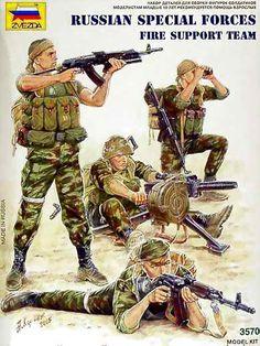 Zvezda russsian fire team - Modeledo.pl