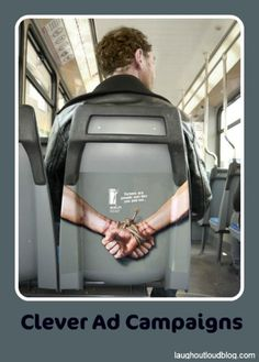 Clever ad campaign!