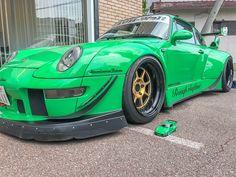 Porsche, Bmw, Japan, Vehicles, Green, Model, Scale Model, Car