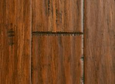 "Morning Star  9/16"" x 5-1/4"" Sufong Palace Strand Bamboo  Stained  $4.89 Twice as hard as oak."