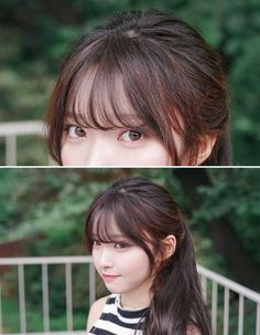 15 ideas hairstyles korean bangs - New Site Haircuts For Long Hair With Layers, Short Hair With Bangs, Haircuts With Bangs, Long Layered Hair, Girl Haircuts, Hairstyles With Bangs, Long Bangs, Korean Short Hair Bangs, Short Haircuts