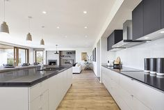 Emperor Series - Double Storey New Home Designs Interior House Colors, Home Interior Design, Henley Homes, New Home Designs, Home Collections, Colorful Interiors, Interior Inspiration, Home Kitchens, Kitchen Dining