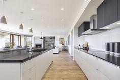 Emperor Series - Double Storey New Home Designs Henley Homes, New Home Designs, Home Collections, Home Interior Design, Interior Inspiration, Home Kitchens, Kitchen Dining, New Homes, Indoor
