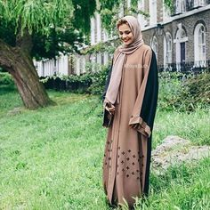 Loving this Sienna Open Jacket Abaya ❤️ Visit our online store  WWW.ABAYABUTH.COM