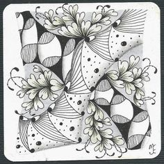 thehappytangler: Tangle Patterns String No. 091 - 2