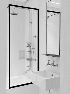 inspiration for minimal industrial bathroom | by nicolas schuybroek