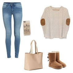 """""""cute"""" by idamariahaapanen on Polyvore featuring Urban Outfitters, UGG Australia, Old Navy and Casetify"""