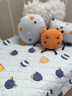 Monsters Boys Cot Quilt