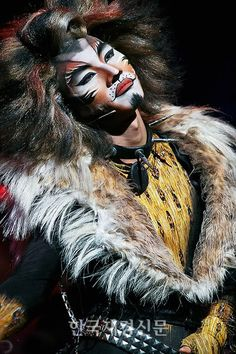 "Daesung (대성) of Big Bang as Rum Tum Tugger in the Korean version of ""Cats"" (2007)"