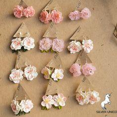 Polymer Beads, Polymer Clay Flowers, Polymer Clay Charms, Polymer Clay Art, Polymer Clay Earrings, Clay Clay, Polymer Clay Projects, Clay Crafts, Diy Earrings