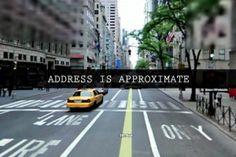 Приблизительный адрес