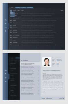 new look for gmail ipad app design