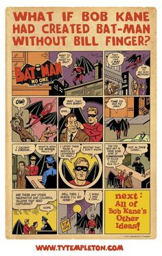 A Finger-less Bat-Man?