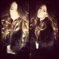 Ombre Hair...would love this darker version for fall