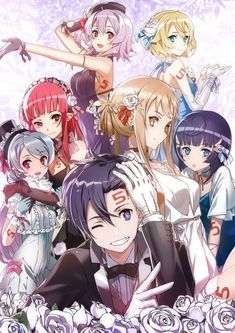 Sao Game, Tous Les Anime, Chibi, One Punch Anime, Fate/stay Night, Arte Online, Sword Art Online Wallpaper, Anime Friendship, Kirito Asuna