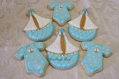 Ahoy it's a Boy (onesies, sweet sail boats) by Teri Pringle Wood, posted at Cookie Connection