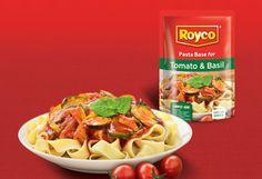 Royco's Tomato and basil pasta - MyKitchen Tomato Basil Pasta, Parmesan Pasta, Mixed Vegetables, How To Cook Pasta, Budget, Vegetarian, Cooking, Food, Kitchen