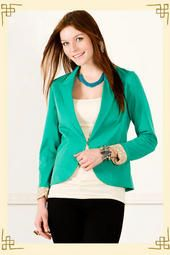 After Hours Blazer - Francesca's Collections