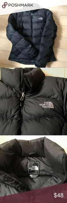 North Face Women's Nuptse Jacket 700 Great condition, The North Face Women's Nuptse Down Jacket 700 series. This jacket is sleek and comfortable without being too puffy. It's extremely warm, yet classic enough to wear to work, etc. Only worn one season! The color is black but can look like a very dark gray in certain lighting. The North Face Jackets & Coats Puffers