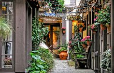 Shops in Carmel, California - the most wonderful and charming shopping and dining destination. Visited with Barry, Lisa and Jodie in Carmel California, California Coast, California Travel, Northern California, Monterey California, Great Places, Places To See, Beautiful Places, West Coast Usa