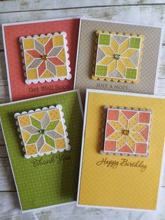 Quilt Block Card Set