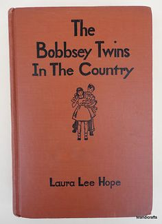 Book Hardcover Bobbsey Twins in the Country by Laura Lee Hope 1941