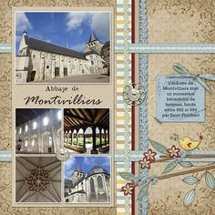 Normandie #digital #scrapbooking #layouts, layouts, digital, scrapbooking, ideas, layout, Scrapbook