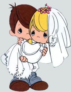 PRECIOUS MOMENTS WEDDING PRECIOSOS MOMENTOS BODAS IMÁGENES PARA IMPRIMIR