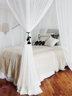 Free People Geo Lace Four Point Queen Canopy, $280.00
