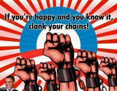 If you're happy & you know it, clank your CHAINS!