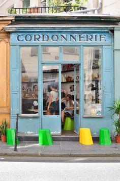 Paris, Marais: Boot Café