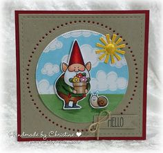 Handmade by Christine: You GNOME me.....