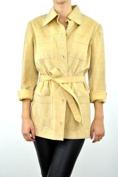 Items similar to Leonard Vintage Belted Safari Jacket on Etsy Safari Jacket, My Outfit, 1970s, Sew, Fashion Outfits, Suits, Coat, Clothing, Jackets