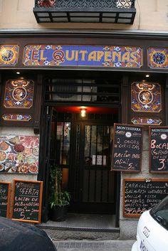 """Restaurant """"El Quitapenas"""" - Madrid (Spain)"""