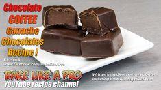Easy Dark Chocolates Filled With Chocolate Coffee Ganache Recipe Chocolate Mud Cake, Chocolate Filling, Best Chocolate, Chocolate Coffee, How To Make Chocolate, Homemade Chocolate, Chocolate Recipes, Choc Mousse, Ganache Recipe