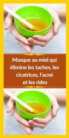 Anti Ride, Les Rides, Fruit, Tableware, Honey, Homemade Beauty Products, Homemade Cosmetics, Home Made, Face Beauty