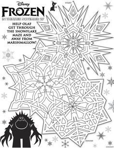 Disney's Frozen Printables: Free Downloads For The Kids | Lady and the Blog