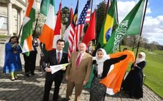 Minister Quinn @ the Education in Ireland Student Ambassador ceremony at Farmleigh!