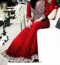 Pakistani Bridal dress & <3 the color