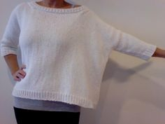 inspiration and realisation: DIY Fashion + Home: drop shoulder sweater