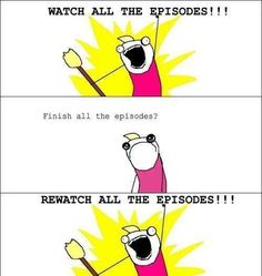 In a nut shell...doctor who and battlestar galactica for me
