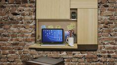 De Podpad van Ruphus is een multifunctioneel doch minimalistisch bureau met ingebouwde speaker