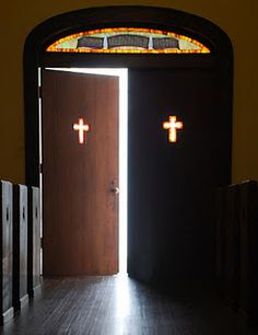 This is a great pic of your church doors.