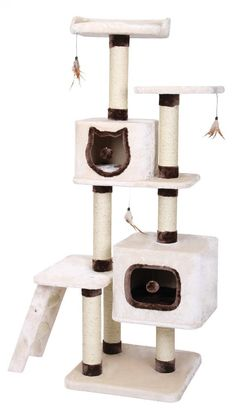 TheTregua Cat Tree is a stunning piece of kitty architecture that will inspire you kitty to get out of bed and have some fun!  Yes, this amazing activity tree will leave your feline out of breath as they jump between each of the plush platforms and explore everything that theTregua Cat Tree has to offer..  E/very single nook and cranny of theTregua Cat Tree has been built for maximum pleasure for your kitty. If you have multiple felines then theTregua Cat Tree has plenty of room to…