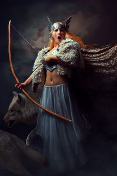Valkyria - The gathering by cunene.deviantart.com on @deviantART