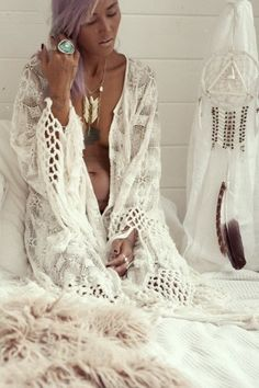 ♡ boho whites