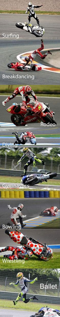 Cool Pics Bro - Sports combined with motorcycle racing…