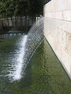 Water feature detail.