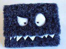 Monster Tablet Hülle, Extrafach,9Zoll, blau
